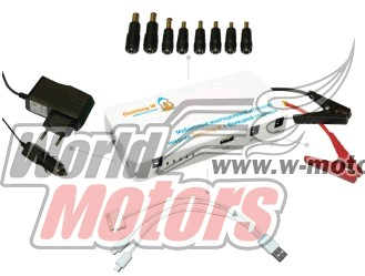 Пускозарядное устройство Osminog W (12000мАч, 160х75х28мм, 430гр.) (запуск авто, зарядка гаджетов, LED фонарь)