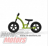 "Беговел 12"" Playshion Street Bike EVA (Рама:металл, конструкция не складная) (FS-BB001) ЗЕЛЕНЫЙ"